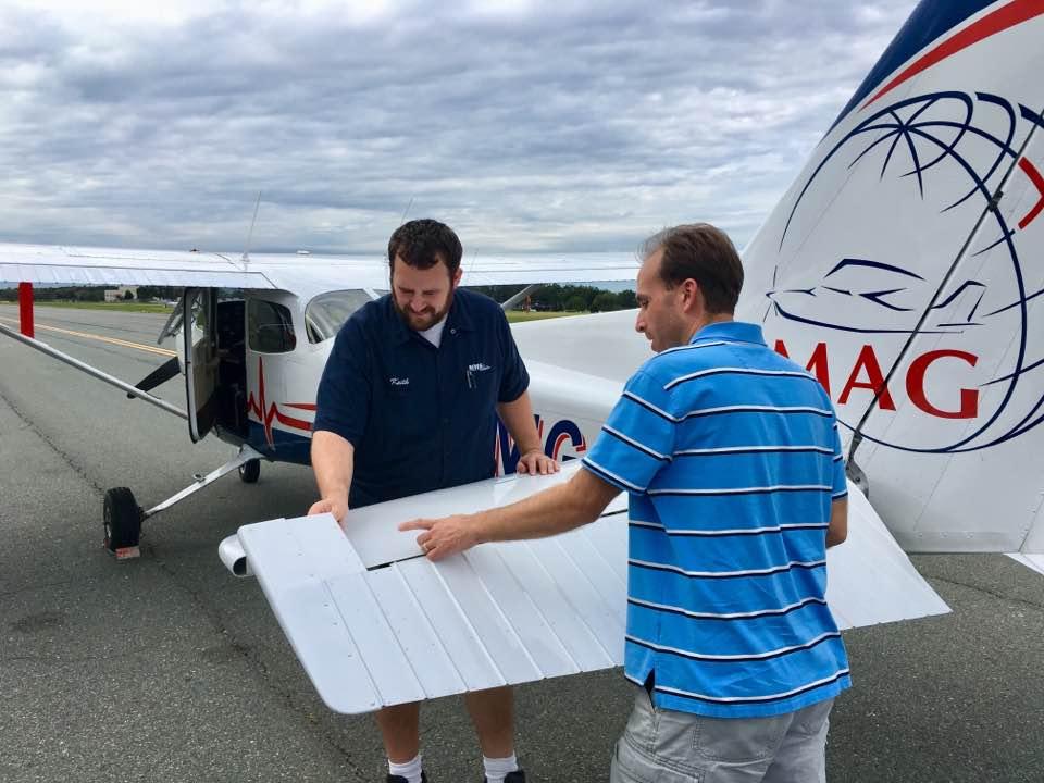 Keith begins flight training at MAG